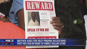 Mother asks for help finding killer who shot her son in western suburbs