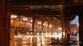 Flash flooding possible as heavy rains pound Chicago