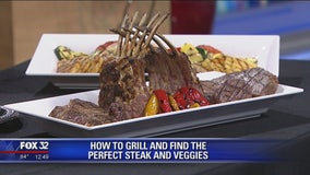 How to grill and find the perfect steak and veggies