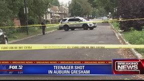 Teenager shot in Auburn Gresham neighbrhood