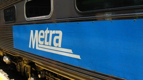 Metra train hits car near Lake Forest, service delayed