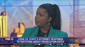 State's Attorney Kim Foxx addresses prosecution rates, Chicago crime
