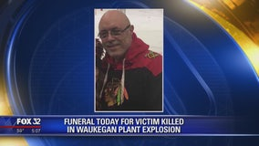 Funeral held for man killed in Waukegan plant explosion
