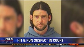 Hit-and-run suspect to appear in court to face felony charges