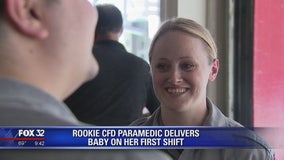 Baby boy born at Goose Island fire station
