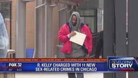R. Kelly charged with more sex-related crimes in Chicago