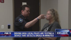 Driving High: Police are testing a device that detects drugs in minutes