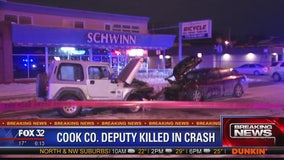 Off-duty sheriff's deputy killed in Mount Greenwood head-on crash