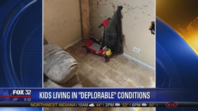 Children found living in 'deplorable' conditions in Dixmoor home