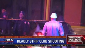 1 dead, 3 wounded in shooting at Harvey strip club
