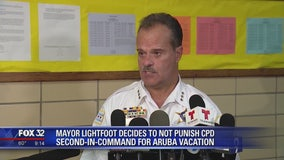 Mayor Lightfoot decides to not punish CPD second-in-command for Aruba vacation