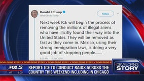 Mayor says Chicago police won't assist ICE in rounding up illegal immigrants