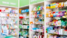 Burglar stealing drugs from pharmacies in Chicago