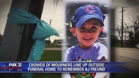 Public visitation held for slain 5-year-old AJ Freund