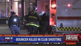 Bouncer killed, 1 other wounded in River North shooting: police