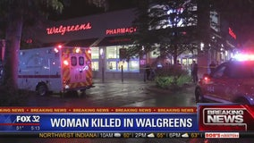 Woman killed in Cragin Walgreens store