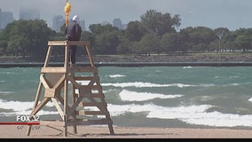 Swimming advisories extended for parts of Lake Michigan due to high waves, strong currents
