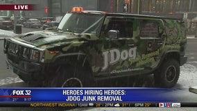 Heroes Hiring Heroes: JDog Junk Removal