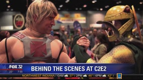Behind the scenes at C2E2