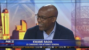 Democrat Kwame Raoul hopes to replace AG Lisa Madigan