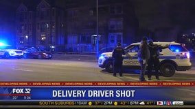 Man, 50, shot while delivering food in Washington Park