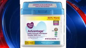 Infant formula sold exclusively at Walmart recalled due to possible metal presence