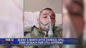 Many in Beach Park still suffering one month after chemical spill