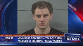 Elk Grove Village man charged with shooting postal worker