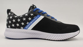 Air Force veteran touts new shoe to honor law enforcement as Nike pulls patriotic flag sneaker