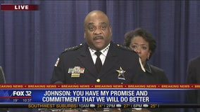 Chicago Police Superintendent Eddie Johnson talks about DOJ report