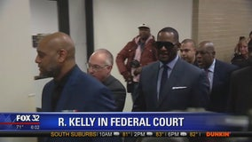 R. Kelly expected to appear in federal court Tuesday