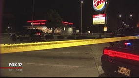 Suspect wounded in gunfire with police outside Maywood restaurant