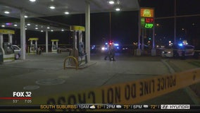 2 shot at gas station in South Holland