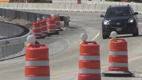 Lane closures planned on Kennedy Expressway for removal of Montrose bridge