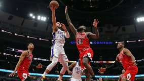 Embiid, Redick lead way as 76ers beat Bulls 116-96
