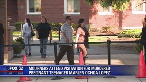 Mourners attend visitation for murdered pregnant teen Marlen Ochoa-Lopez