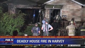 Woman found dead after Harvey fire, police suspect homicide