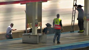 Leaked video shows security guard standing on CTA platform before woman is killed by train