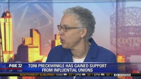 Toni Preckwinkle talks endorsements, Chicago's challenges