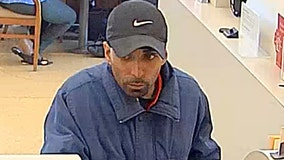 Reward raised to $6K for man wanted in Evanston bank robbery
