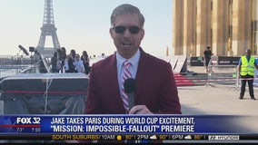 Jake takes Paris for World Cup, 'Mission: Impossible - Fallout' premiere