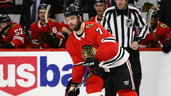 Longtime Blackhawks' defenseman Brent Seabrook announces retirement