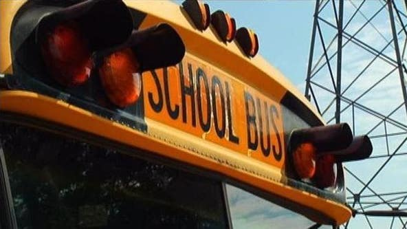 Boy, 10, arrested for throwing rock at 'annoying' bus driver's head