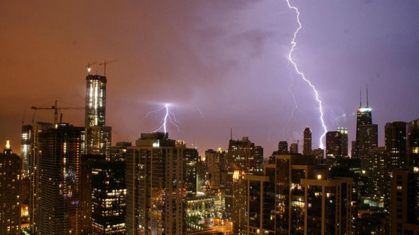 Thunderstorms, heavy rain possible Wednesday afternoon in Chicago