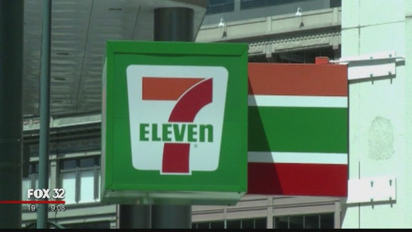 Robbers hit 3 Chicago 7-Eleven stores in less than 30 minutes on Monday