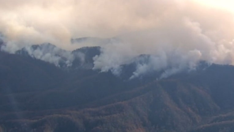 054a1f53-The drought in the southern states has led to dozens of wildfires