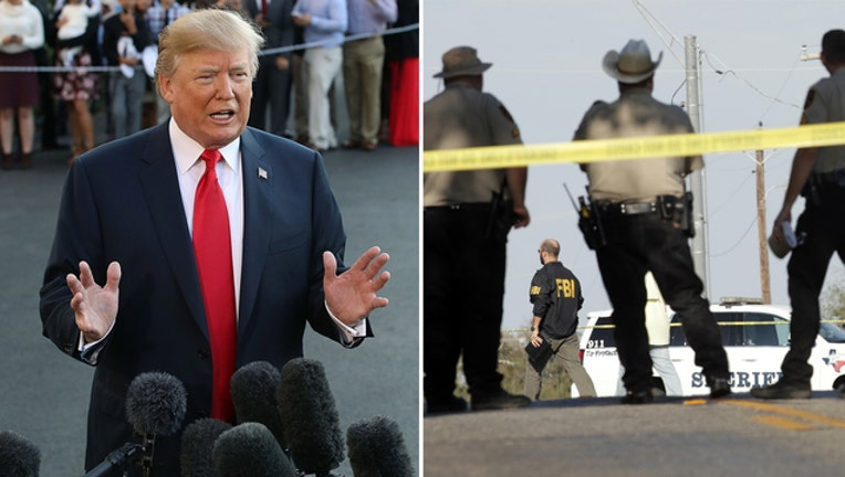 07a66778-Trump says Texas shooting mental health issue not guns situation-401720