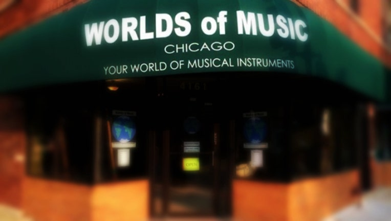 Worlds of Music in Chicago's Ravenswood neighborhood is going to close