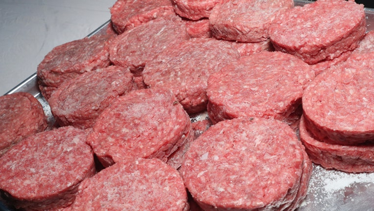 20k Pounds Of Frozen Beef Patties