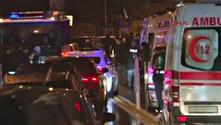 Dozens killed in attack on Istanbul nightclub on New Years Eve